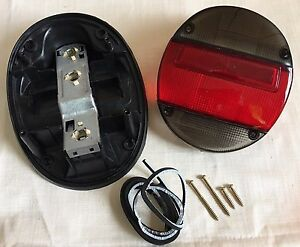 VW BUG Left Right Tail Light Assembly Dark Red White VOLKSWAGEN BEETLE Rear 1pc