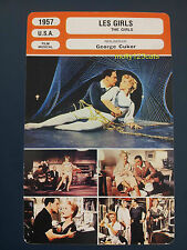 George Cukor Cole Porter Gene Kelly Musical Les Girls French Film Trade Card
