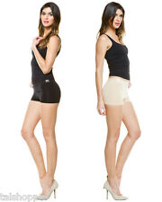 NWT L/XL CASS Luxury Shapewear 2 Pack Black Nude Shaping Bottoms Shaper Shorts