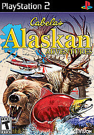 Cabela's Alaskan Adventures (Sony PlayStation 2, 2006) Ps2 Tested