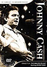 Johnny Cash Entertains (DVD, 2006) Brand New Sealed