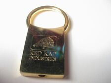 Red Kap Industries Brass Key Ring - Youre' the Key to Our Success engraved on it