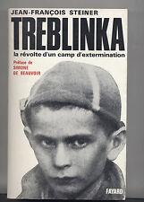 Treblinka par  Steiner Fayard ENVOI à DEBRE + ex-libris 1966