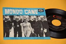 "NINO OLIVIERO 7"" 45 DAL FILM MONDO CANE COL SONORA ORIG 1962 EX+"