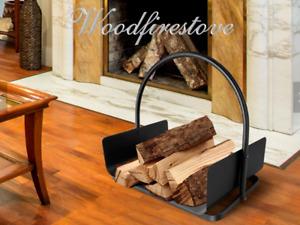 FIREWOOD CARRIER / HOLDER Indoor Log Rack Holder - Wood Storage WOOD HEATER