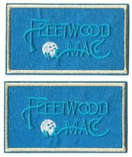 Fleetwood Mac Logo Symbol Patch [Lot of 2] Badge [Embroidered] Iron or Sew On