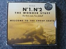 The Wonder Stuff 'Welcome To The Cheap Seats' 2xCD Single Box-Set RARE & DELETED