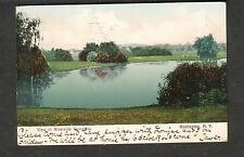 1906 post card view in Riverdale Cemetery Rochester NY/Providence RI to Auburn
