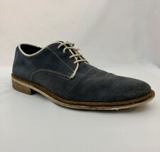 Men's Giorgio Brutini Size 8.5 Shoes Blue Suede Wingtip Brogue
