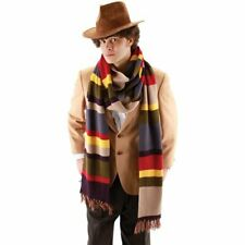 New Doctor Who Fourth Doctor 12 Foot Adult Knit Scarf 444330 Costumania