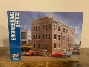 Walthers HO Scale Engineering Office Building Kit SEALED