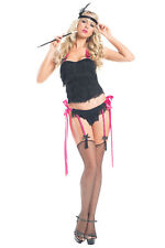 Be Wicked Queen of the Dance Costume Womens Sexy Burlesque Fancy Dress MD/LG