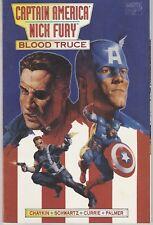 "Prestige Format Comic Captain America Nick ""Blood Truce"" Marvel 1995"