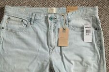 Faded High Rise Regular Big & Tall Size Jeans for Men