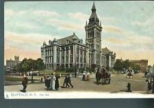 c1900 City Hall Buffalo New York Udb Postcard Ny
