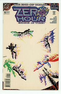 JERRY WEIST ESTATE: ZERO HOUR: CRISIS IN TIME #1-4 (DC 1994) all NM! NO RES!
