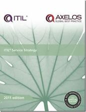 ITIL SERVICE STRATEGY - NEW PAPERBACK BOOK