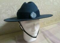 ROYAL  AUSTRALIAN  AIR  FORCE -  RAAF  OFFICERS  SLOUCH  HAT SIZE 60 (a)