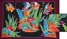 "Sarong/Pareo/Wrap - ""AQUARIUM"" - handpainted batik from Bali - Hary Dary"