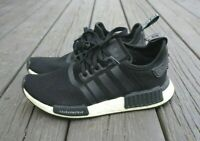 adidas Originals Youth Running NMD R1 Black White Running Shoes Size 5.5  CG6245