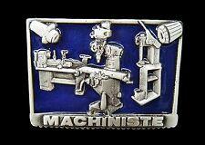 Machinist Machiniste Machinery Machine Shop Tool Belt Buckles Boucle de Ceinture