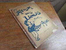 CARAN D'ACHE L'ALBUM DES LUNDIS circa. 1896 Libr. FIGARO Edition Originale