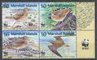 WWF - Marshall-Inseln - Brachvogel - 1997 - kpl. Satz -perfekt erhalten- **/MNH