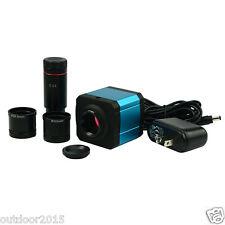 14MP TV HDMI USB 2 Ausgang Mikroskop Industrie Digital Kamera TF Video Recorder