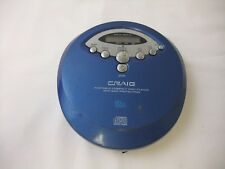 Vintage Craig (Cd2865B) Portable Compact Personal Cd Player Only