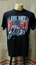 """Vintage 1990s Harley Davidson """"FAT BOY"""" 3D Emblem Deadstock Rare t shirt"""