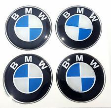 X4 BMW Sticker Rasin 60mm. ( 6CM.) Wheel Center Caps Emblem Logo Decal