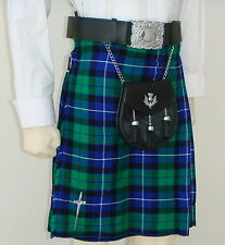 Scottish | Freedom Tartan Heavy Kilt & Kilt Pin | Geoffrey
