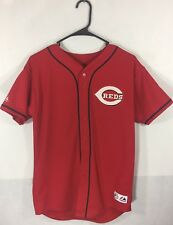 Vintage Adam Dunn Jersey Youth Xl 90's Majestic Cincinnati Reds Home Jersey #44