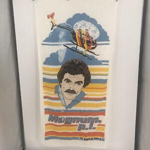 Tom Selleck Magnum PI  Beach Towel