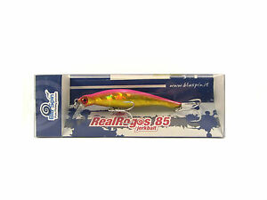 New By BLUSPIN Jerk Bait Real Rogos 85 12g 85mm Sinking - Colour: 85RR126
