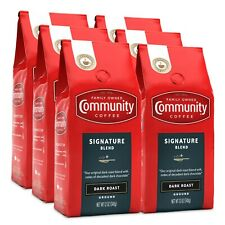 Pick Any Flavor - Community Coffee Premium Ground Coffee, 12 Oz (6 Pk)