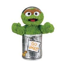 NEW Oscar the Grouch Toys %7c Sesame Street Toys %7c Oscar the Grouch %7c Soft Toys