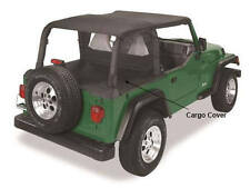 Jeep Wrangler TJ 03-06 Pavement Ends Cargo Cover Black, In-stock AUS, FREE del
