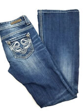 Rerock for Express Jeans Thick Stitch Flare Womens Size 0