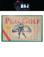 Vintage Tin Toy -Playing Golf  1960's Recreation (Aussie Seller)