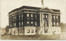 rppc - MICHIGAN - STANTON - MONTCALM COUNTY - COURT HOUSE - FOLKS - CIRCA 1910