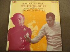 BERLIOZ - HAROLD IN ITALY OP. 16 - LP/VINYL - RCA RED SEAL - SB 6808 - UK - 1969