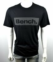 Bench Men's Classic Tee Shirt/Top - Black
