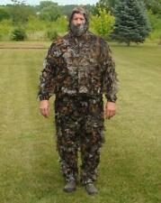 3-D Leafy Camoflauge Deer / Turkey Hunting Ghillie Suit  3 pcs set Camo 3X/4X