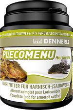 Dennerle Premium Fish Food: Pleco Menu 200ml for Pleco, Catfish