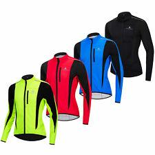 Miloto Winter Herren FahrradJacke Fleece Reflektierend Radsport Jacken M-XXXL