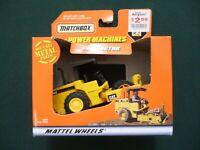 MATCHBOX 1999 MINI POWER MACHINES CATERPILLAR LANDFILL COMPACTOR SEALED NEW!