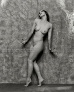 Vintage 1925 Martha Graham Nude Dancing - Publicity Photo - Modern Dance Pioneer