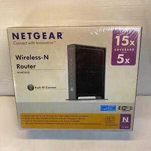 Netgear Wireless Router WIFI Speed WNR2000-100NAS * New Factory Sealed *