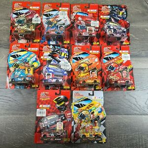Lot Of 10 Racing Champions The Originals 1999 Nascar Series Diecast 1/64 Scale
